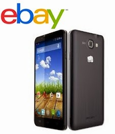 (Price Down) Steal Deal: Micromax Canvas XL2 A109 Blue (5.5′, 1.2GHz Quad Core, 1GB, 5MP) worth Rs.11999 for Rs.6844 Only @ ebay