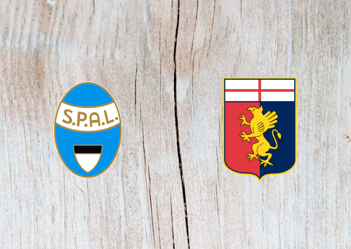SPAL vs Genoa - Highlights 28 April 2019