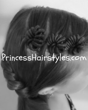 snail shell hairstyle
