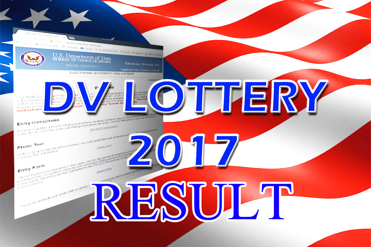 Entrant Status Check >> Check EDV Lottery 2017 Result Out Now | Hollywood Celebrity Bollwood Magazine News with ...