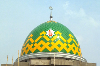 Kontraktor Kubah Masjid Enamel di Lamongan