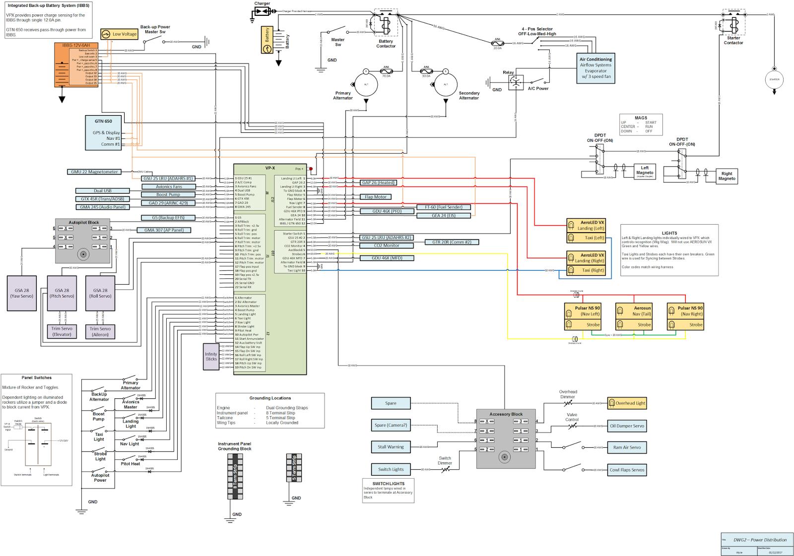 Rv 6 Aircraft Wiring Diagram. . Wiring Diagram Aircraft Wiring Diagram Rv on
