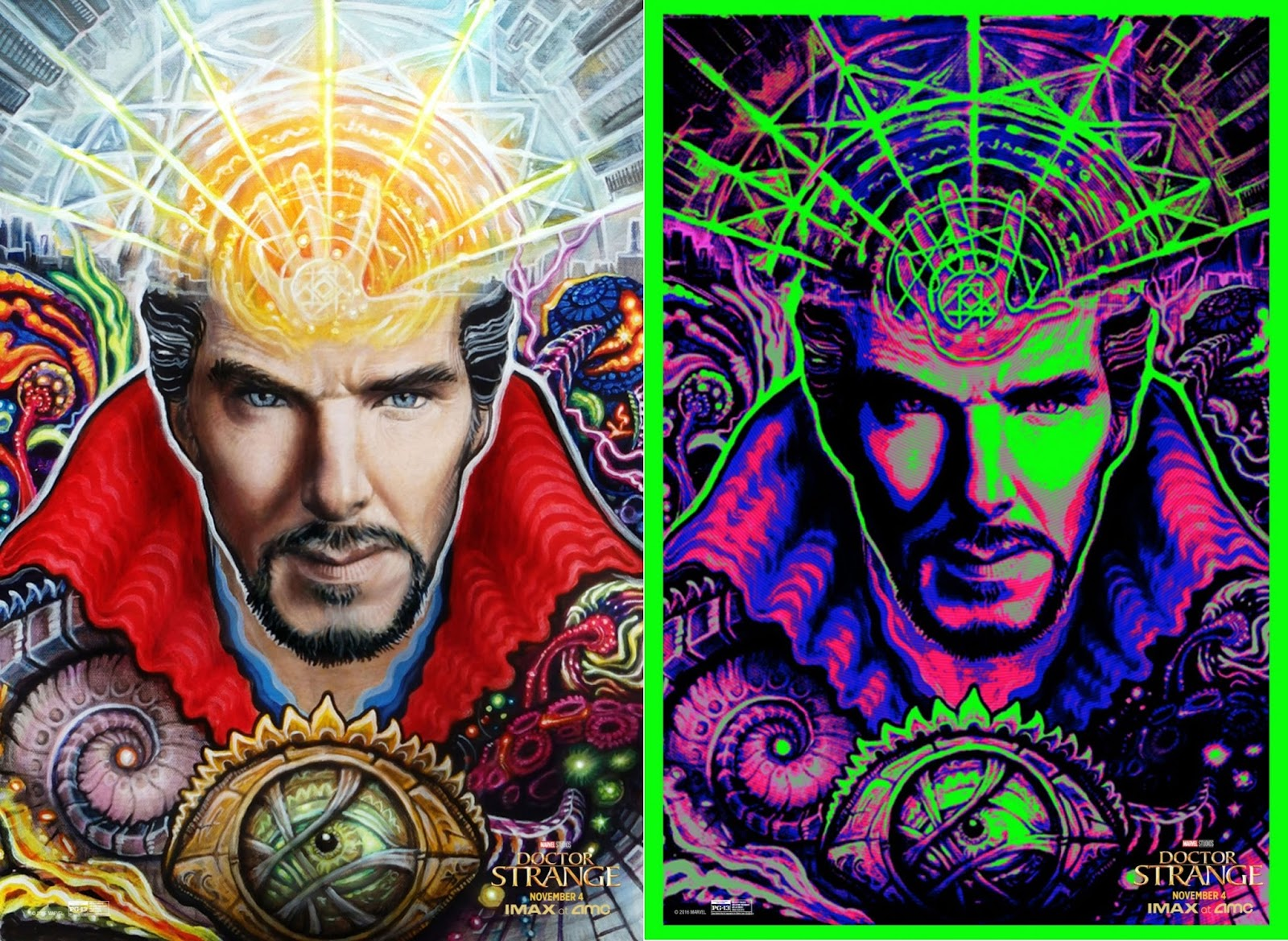 Marvel Movie Posters: The Blot Says...: Marvel's Doctor Strange IMAX Exclusive