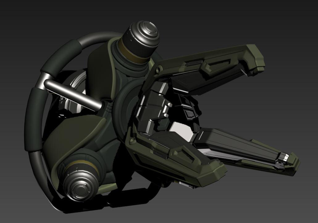 The Art of David Salaiz: Halo Weapons