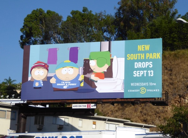 South Park season 21 drops billboard