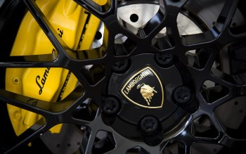 Wallpaper: Lamborghini Wheel