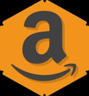 amazon hexagon icon