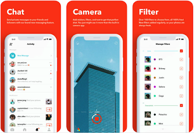 Retrica Photo Filter App With GIF Maker