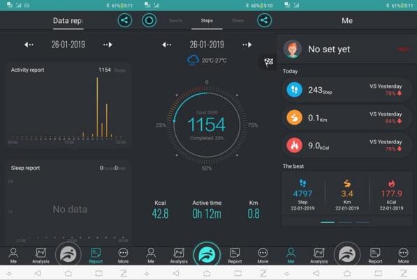 Cherry Mobile Flare Sport Interface via the FunDo App