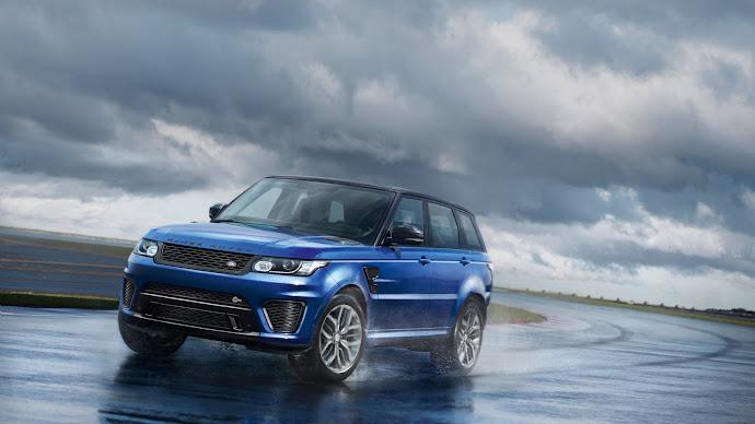 Wallpaper: Range Rover SVR