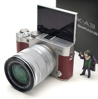 Kamera Mirrorless Fujifilm XA3 Fullset 2nd