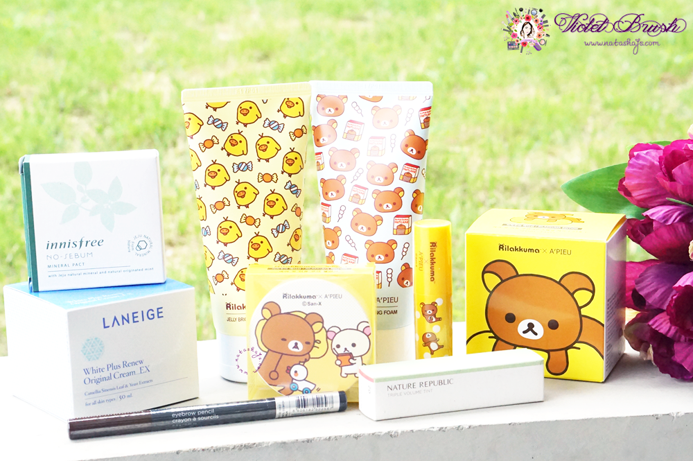 korea-spring-summer-haul-2016-innisfree-apieu-rilakkuma-laneige-nature-republic-the-face-shop