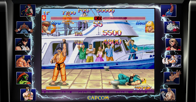 Street Fighter 30th Anniversary Collection - Super Street Fighter II - The New Challengers - Ken Stage - Ryu VS Ken