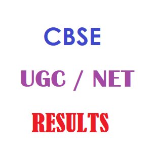 CBSE UGC National Eligibility Test NET Result