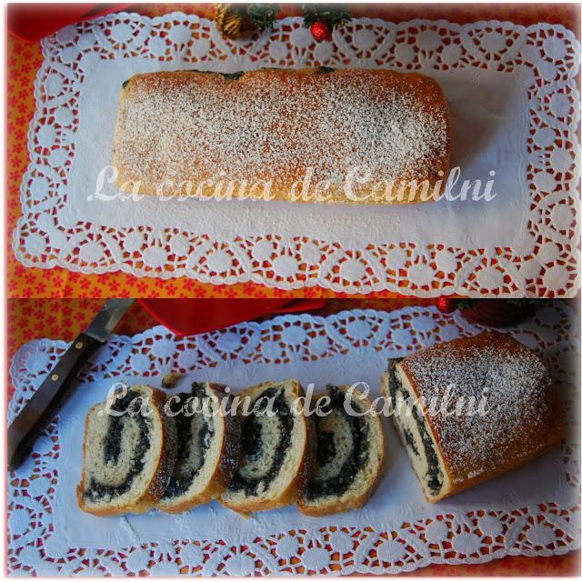 Makowiec (pastel enrollado polaco) La cocina de Camilni