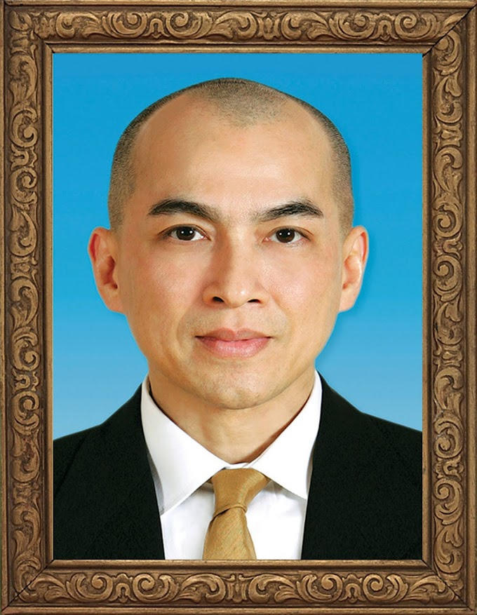 Cambodia's King Norodom Sihamoni Photo Frame free photos