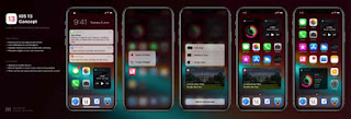iOS-13-concepto-640x219 Apple will renew the design of the iPhone and iPad home display screen, but you'll have to wait Cydia