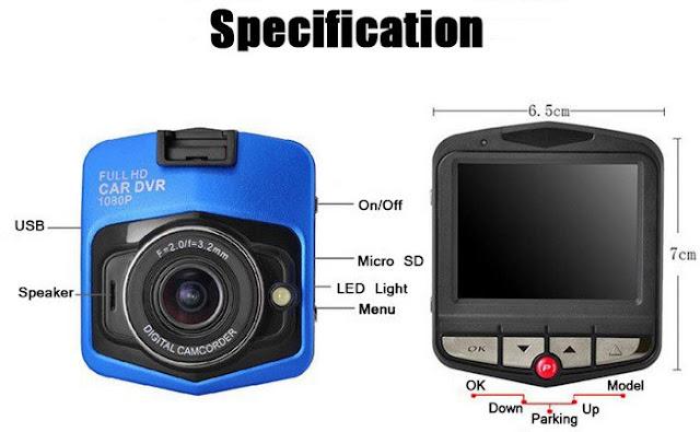 ارخص كاميرا للسيارات تسجل الفيديو بجودة عالية