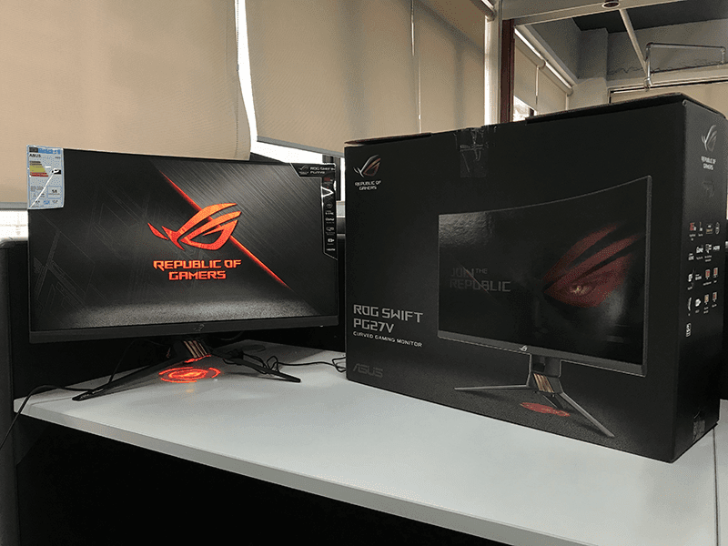 ASUS ROG launches Swift PG27VQ gaming monitor for PHP 48,870!