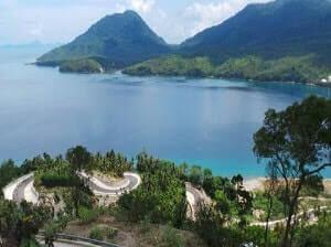 Pemandangan indah di Kota Sabang Aceh