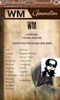 BBM Mod WM V1.0.4 Base BBM 3.1.0.13 Apk