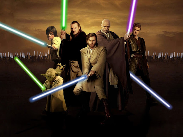 A religião Jedi, a religião do nerds.