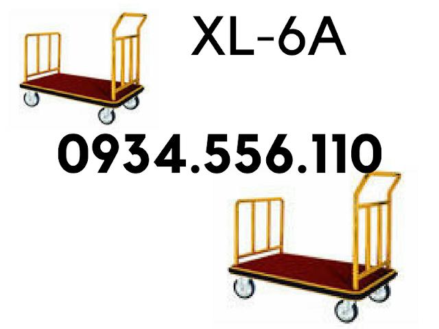 Xe đẩy đoàn hành lý, xe đẩy dọn phòng khách sạn nhập khẩu có sẵn ở Hà Nội