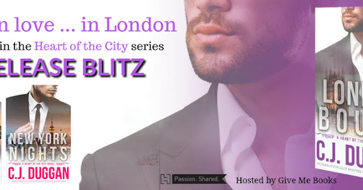 Release Blitz - London Bound by C.J. Duggan!