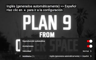 Poner subtítulos en español películas Youtube