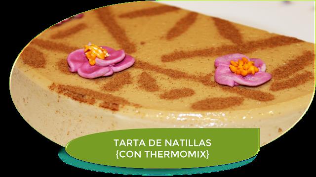 TARTA DE NATILLAS {CON THERMOMIX}