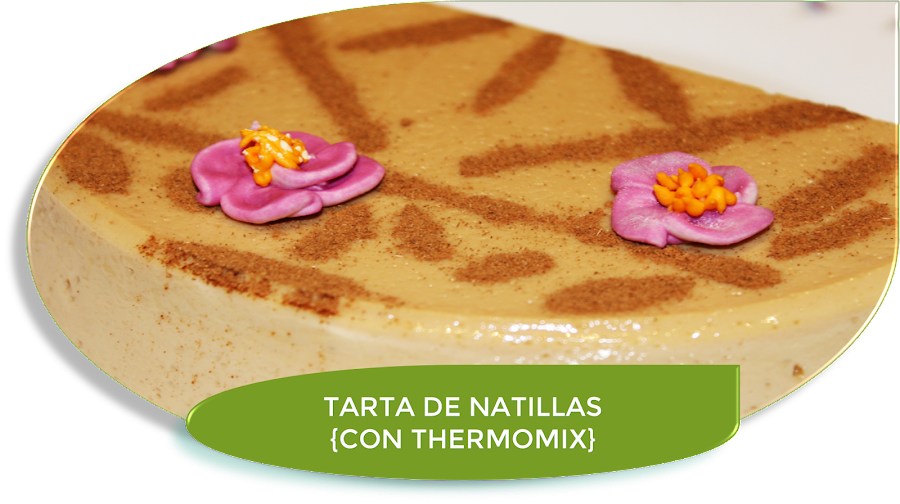 TARTA DE NATILLAS {CON THERMOMIX}