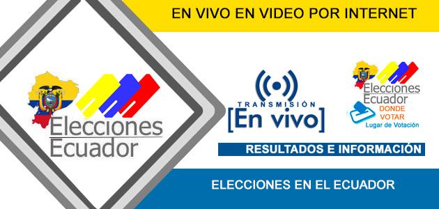 Elecciones 2017 Ecuador en VIVO
