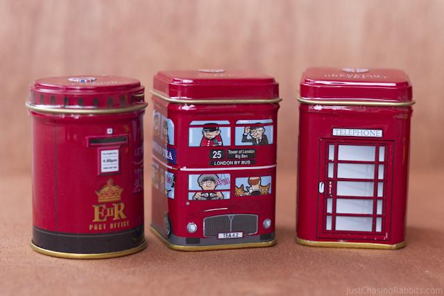 Set of tea made by New English Teas