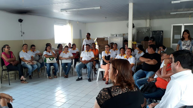 LOCAL: SINDACS PE realizou ação junto aos agentes de saúde em São Joaquim do Monte