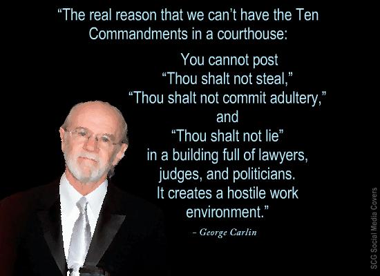 SCG Social Media COVERS 60 CUSSFREE George Carlin QUOTES New George Carlin Quotes