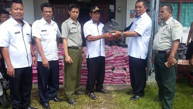 Pemkab Muba Salurkan Sembako Bagi Korban Banjir