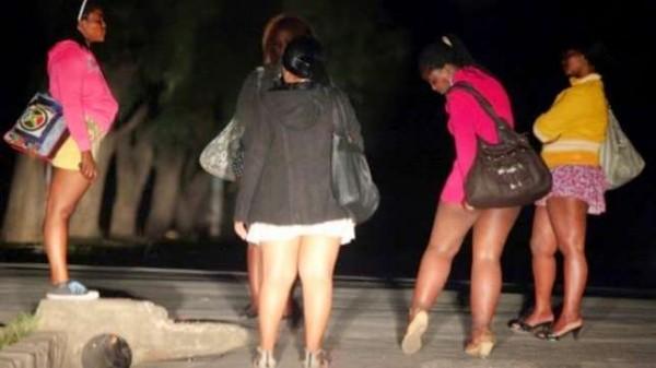 prostitutes arrested obalende lagos