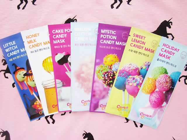 Candy O'Lady One Week Candy Mask Package Review