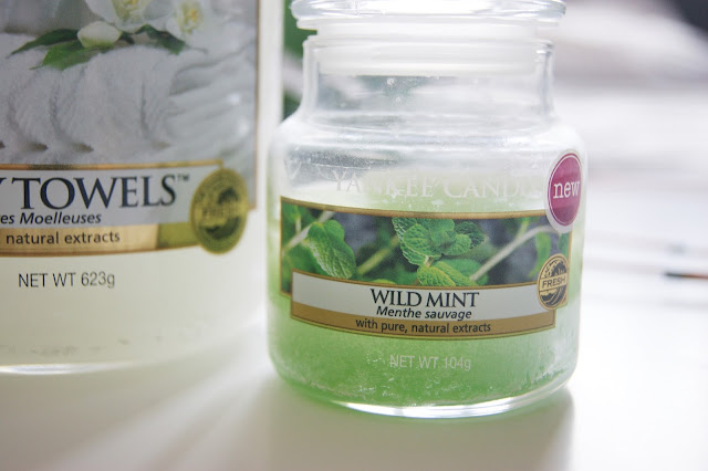 Wild Mint Yankee Candle