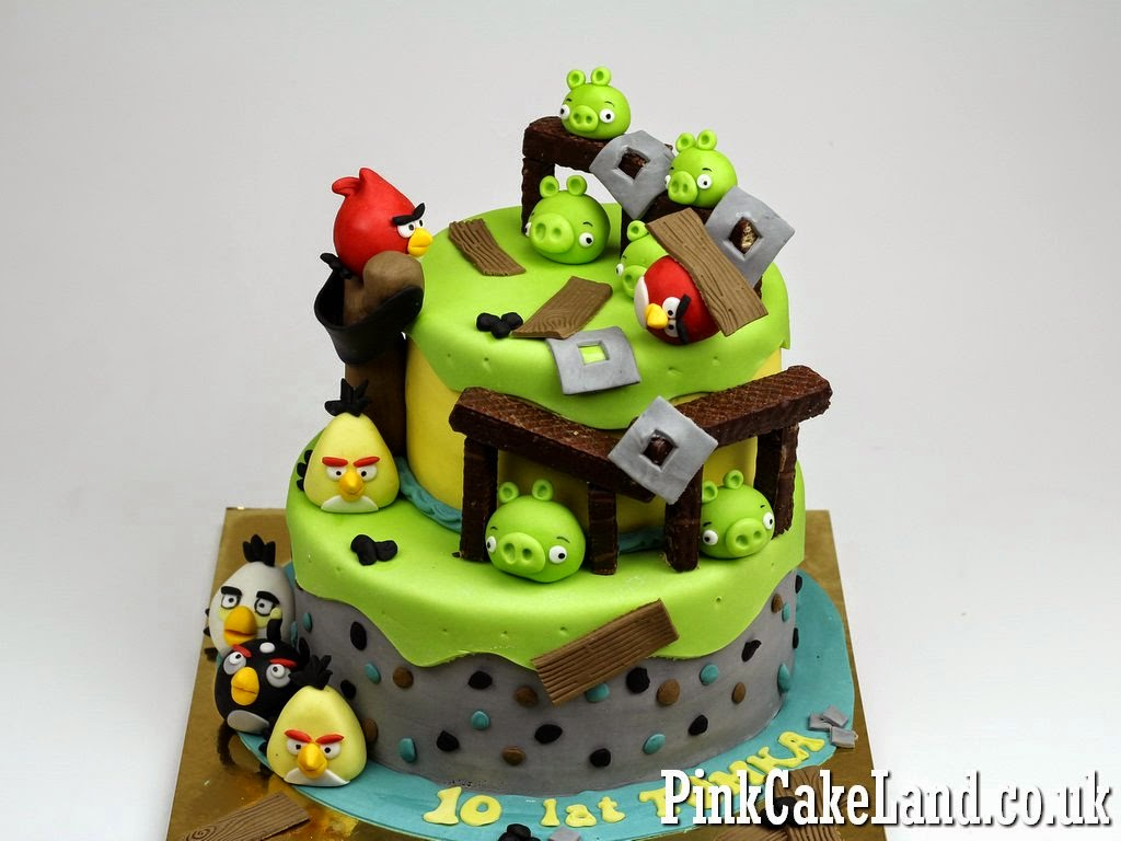Cakes In Surrey Best Angry Birds Cakes In Surrey