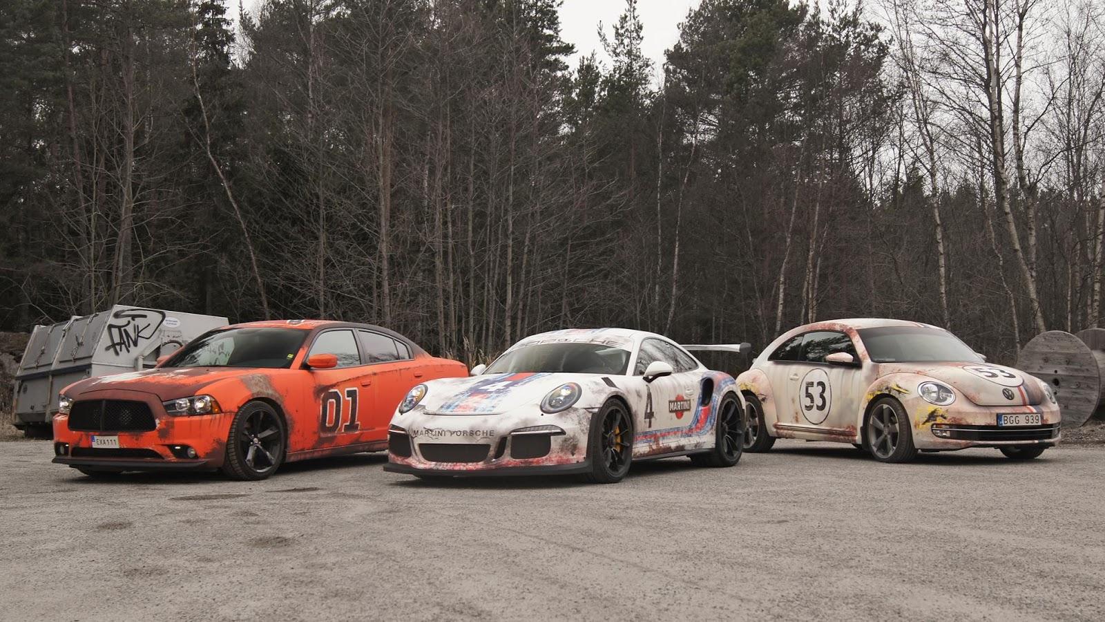Trông Porsche 911 GT3 RS khi thành đồ phế 30 năm trong kho thế nào?