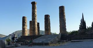 Ruinas de Delfos.Templo de Apolo.