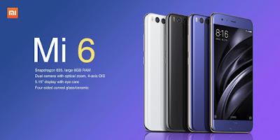 Review Singkat Spesifikasi Xiaomi Mi 6