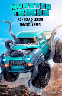 "Poster do filme ""Monster Trucks"""