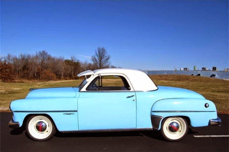 all american classic cars 1952 dodge wayfarer 2 door coupe 1950 Dodge Business Coupe 1952 dodge wayfarer 2 door coupe