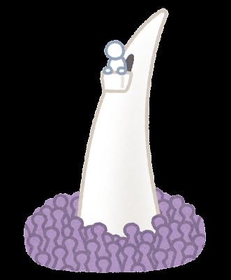 象牙の塔のイラスト