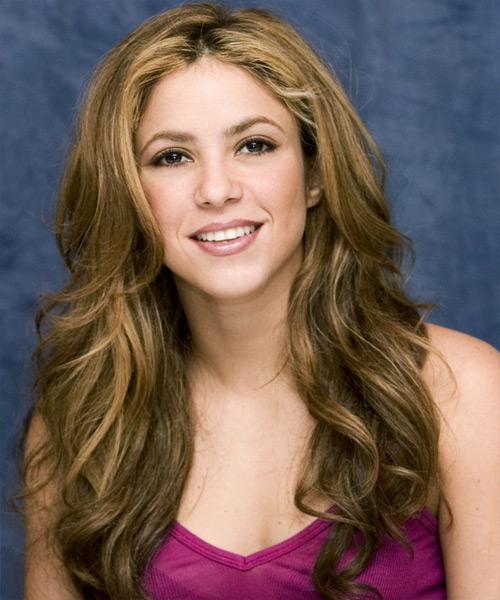 Shakira Hairstyle 2012