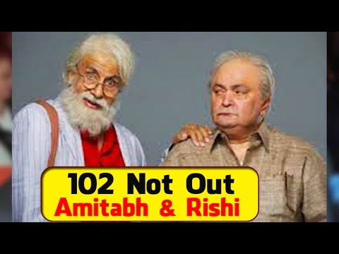 Amitabh Bachchan-Rishi Kapoor announce '102 Not Out' movie