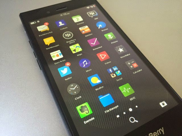 BlackBerry OS 10.3.1.2708
