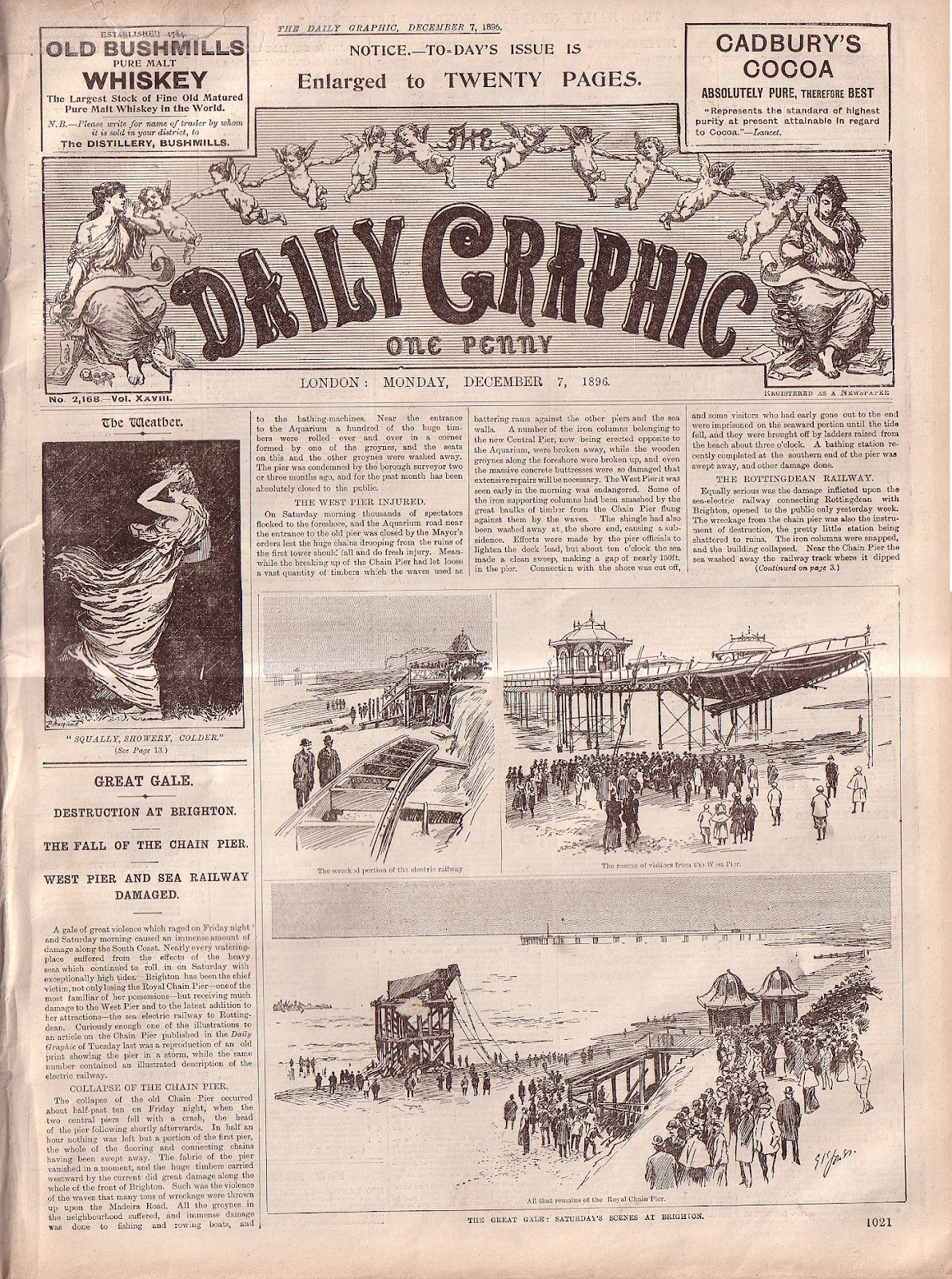 Yesterday's Papers: The Daily Graphic illustrated weekly